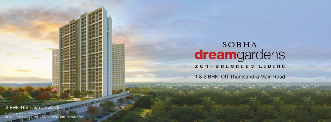 Sobha dream gardens campaign banner