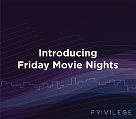 Sobha Privilege -  Introducing Friday Movie Nights