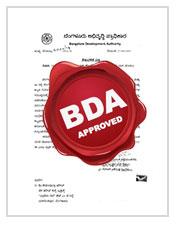 Certificate on BDA approval