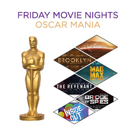 Sobha Privilege - Watch screening of the movies which has won oscars