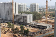 Sobha Dream Gardens Construction Image- January 2020