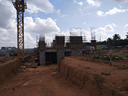 Sobha Dream Gardens Construction Status - August