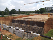 project status of Wing 8 & 9