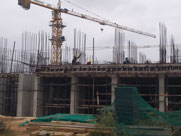 sobha dream gardens wing 6 construction status - dec 2019