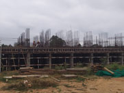 wing 6 construction status of sobha dream gardens - dec 2019
