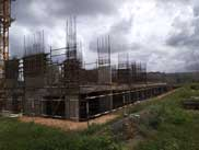 Sobha Dream Gardens Construction Status - October