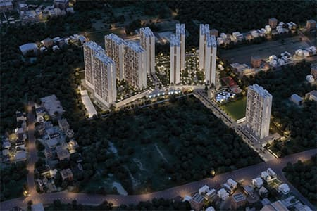sobha dream gardens apartment view